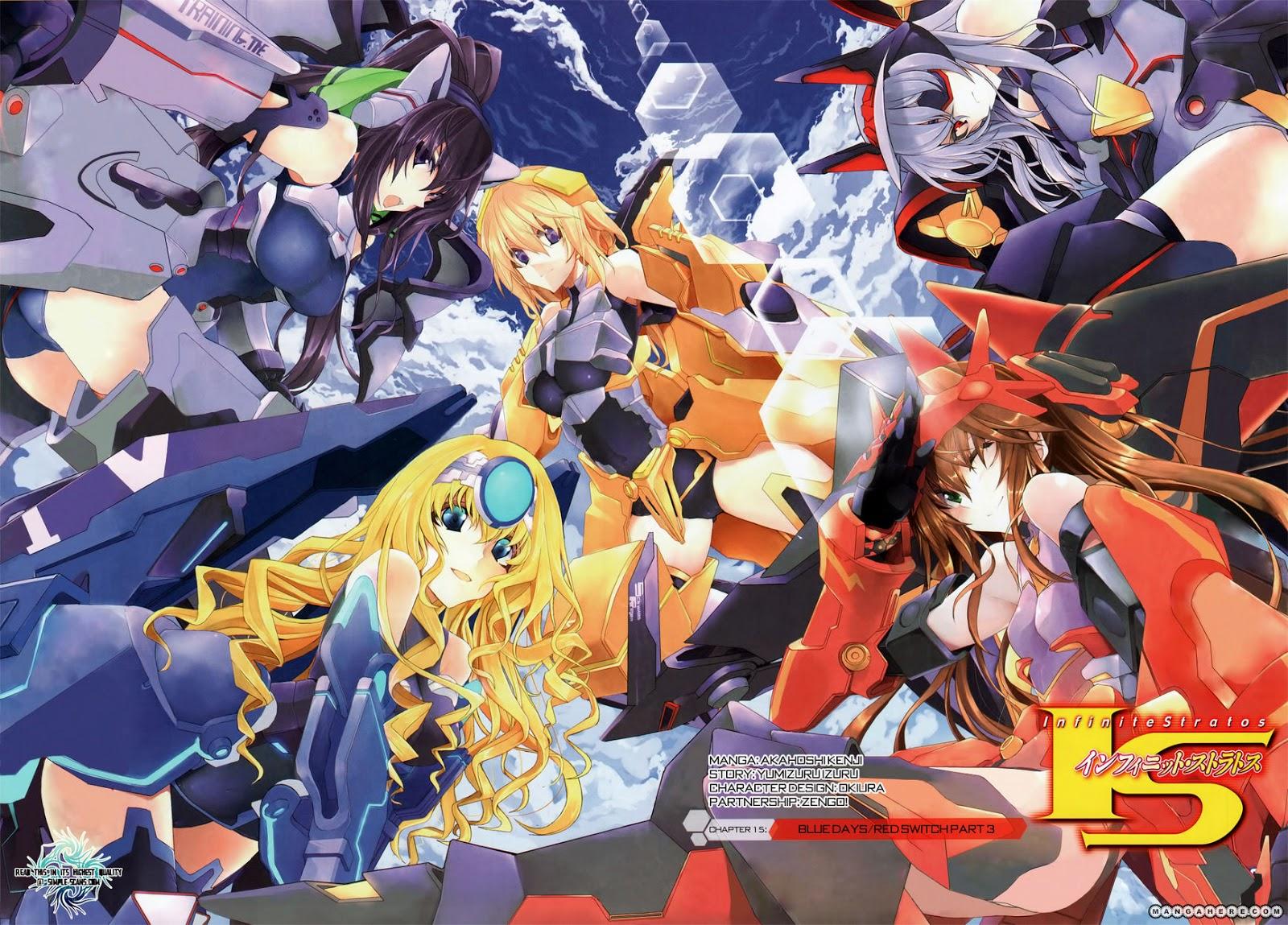 Anime Infinite Stratos Ss1 Vietsub
